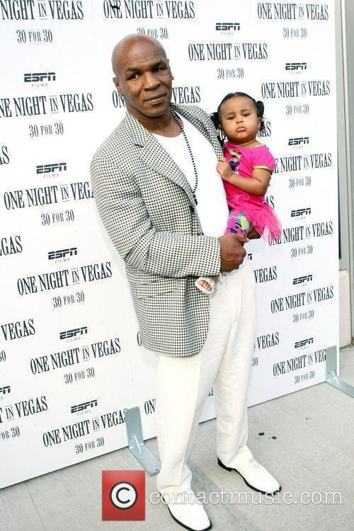 Mike Tyson and daughter Milan Tyson at the...