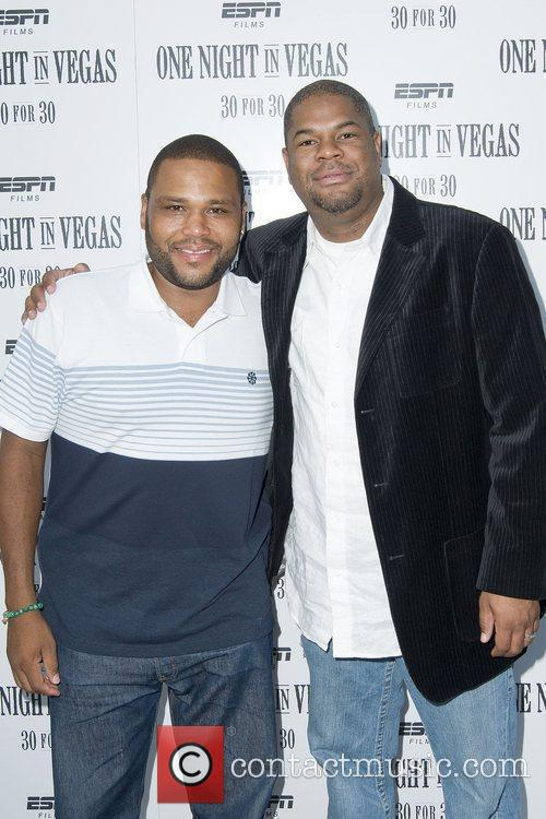 Anthony Anderson and Damon Bingham at the screening...