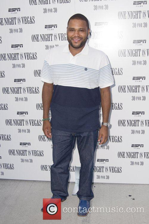 Anthony Anderson at the screening of ' One...