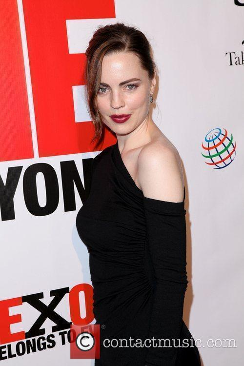 Melissa George,  at the 3rd annual fundraiser...