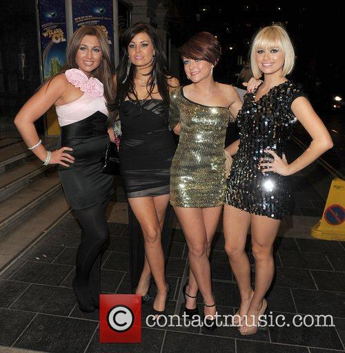 'The Only Way is Essex' stars, girl band...