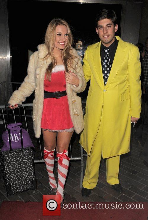 Samantha Faiers and James Argent James Argent from...