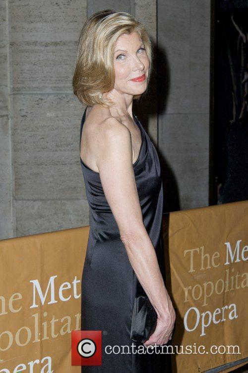 Christine Baranski attends the 2010-11 season opening night...