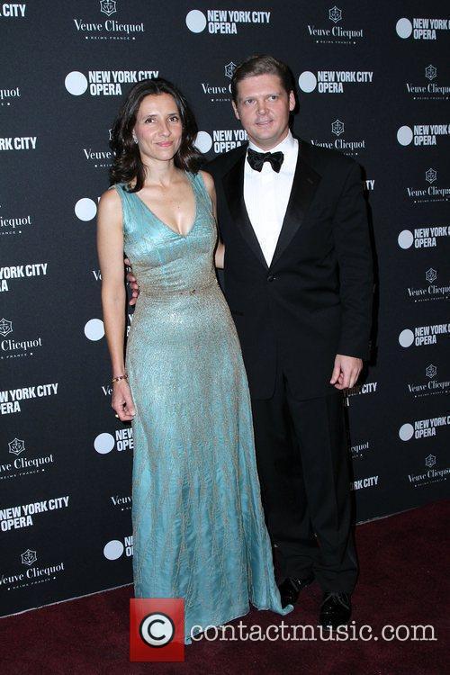 At the New York City Opera's Fall Gala...