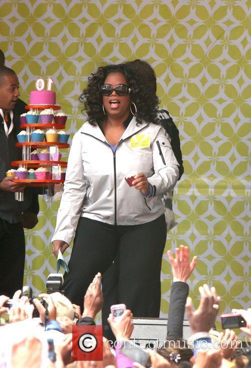 Oprah Magazine celebrates it's 10 year anniversary with...