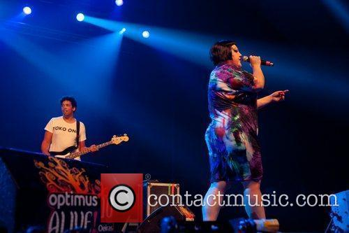 Beth Ditto of The Gossip Optimus Alive! 2010...