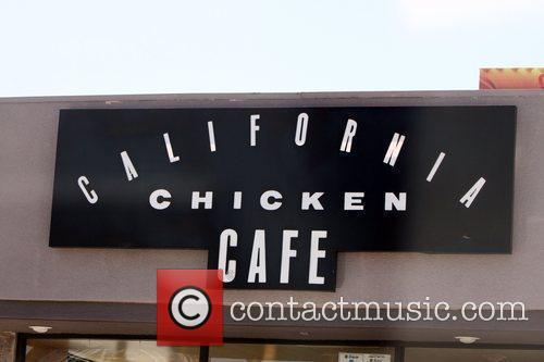 Jack Osbourne departs California Chicken Cafe after having...