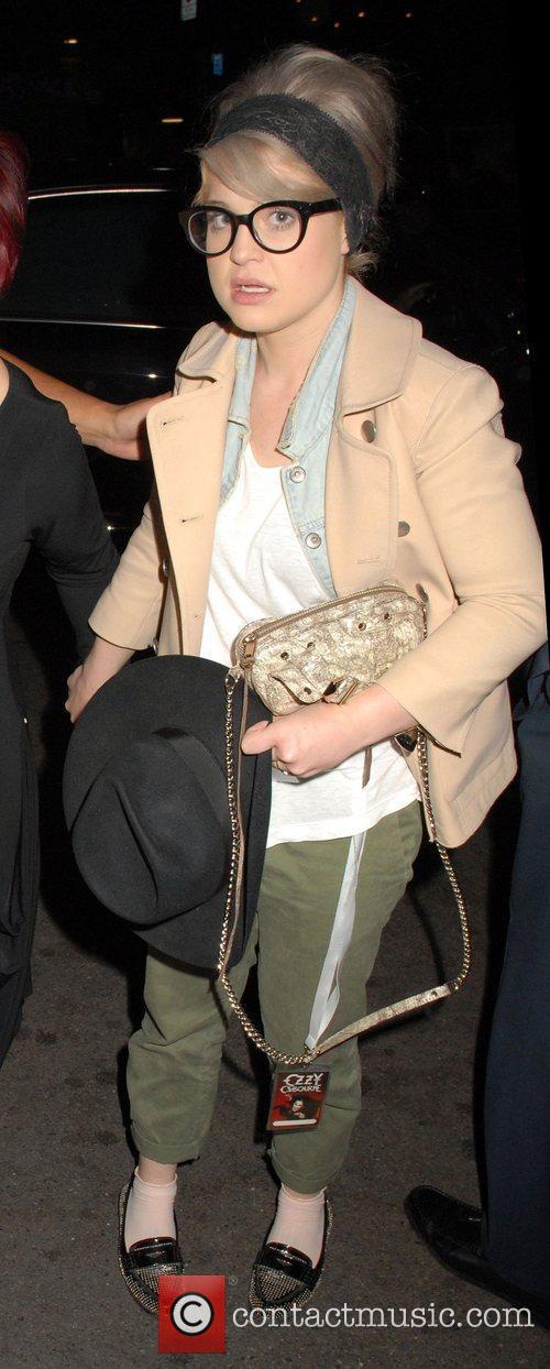 Kelly Osbourne outside The Dorchester Hotel in London