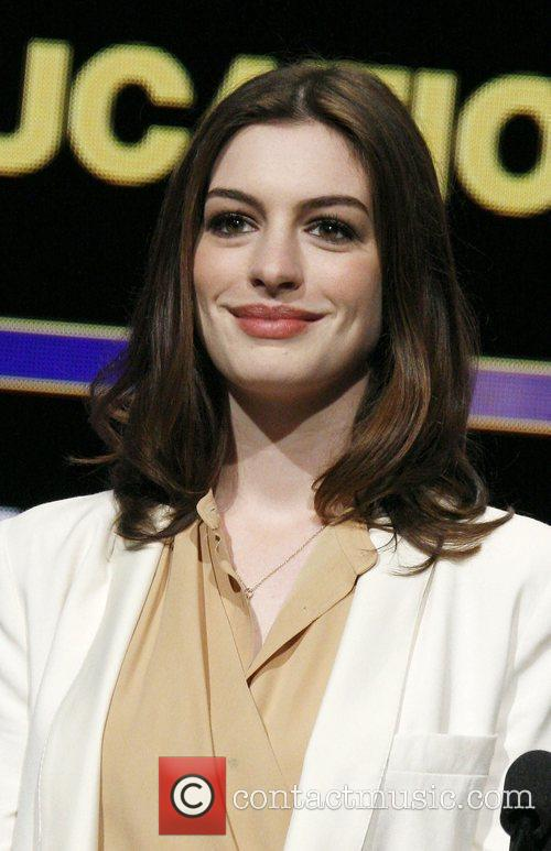 Anne Hathaway 82nd Academy Awards Nominations Announcement held...