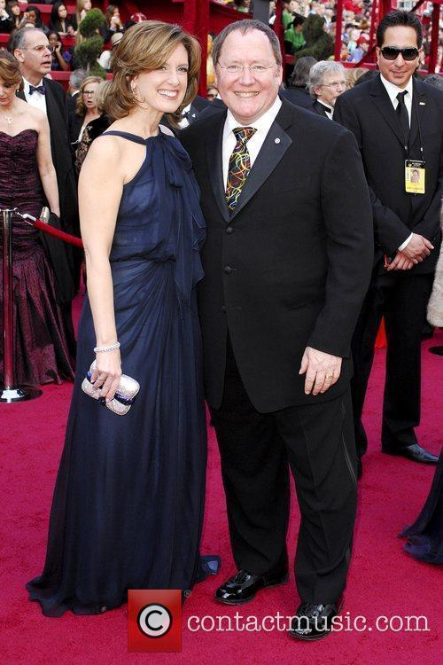 Ann Sweeny and John Lasseter The 82nd Annual...