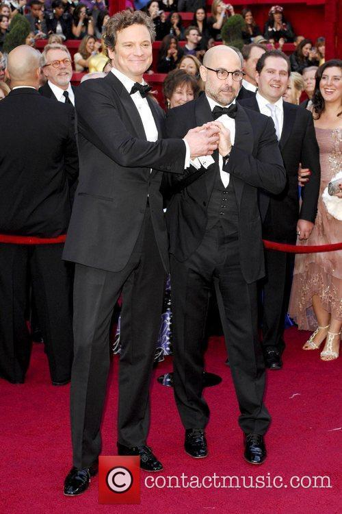 Colin Firth and Stanley Tucci The 82nd Annual...