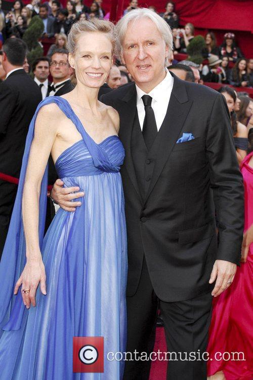 Suzy Amis and James Cameron