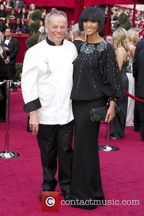 Wolfgang Puck and Gelila Assefa The 82nd Annual...