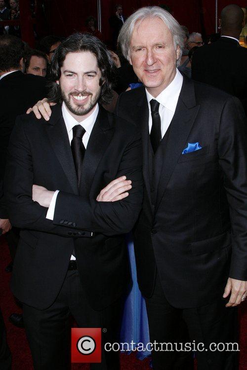 Jason Reitman and James Cameron The 82nd Annual...