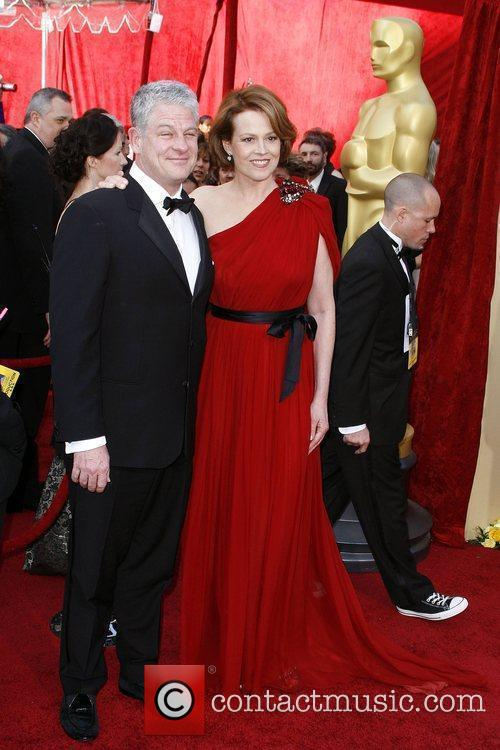 Sigourney Weaver and guest The 82nd Annual Academy...