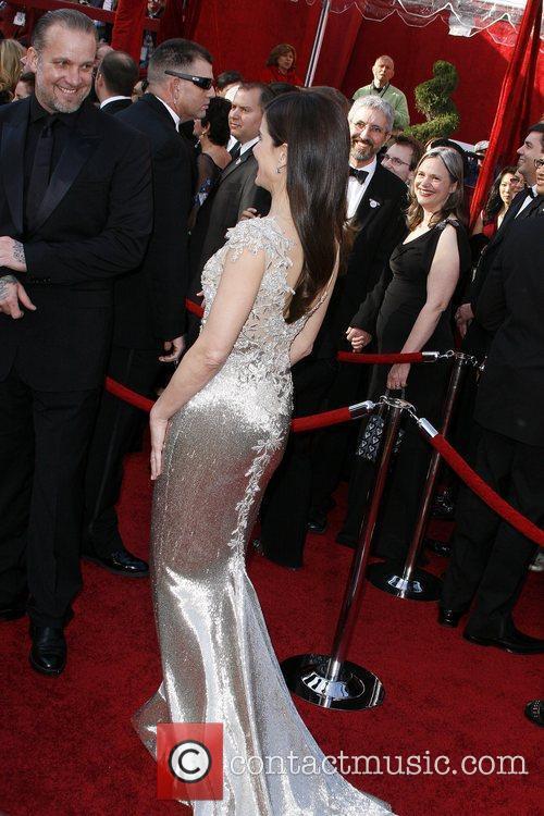Sandra Bullock and husband Jesse James The 82nd...