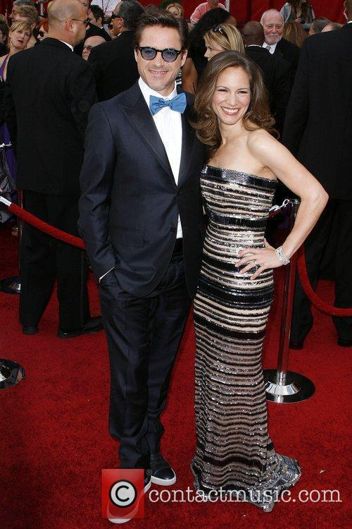 Robert Downey Jr and wife Susan Levin The...
