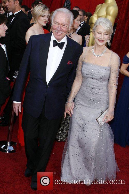 Helen Mirren and Christopher Plummer