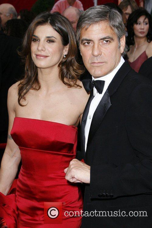George Clooney and Elisabetta Canalis 3