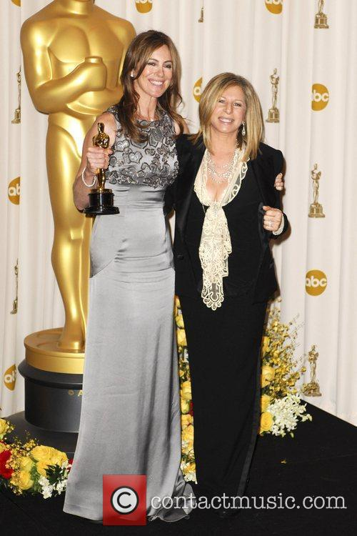 Kathryn Bigelow and Barbra Streisand The 82nd Annual...