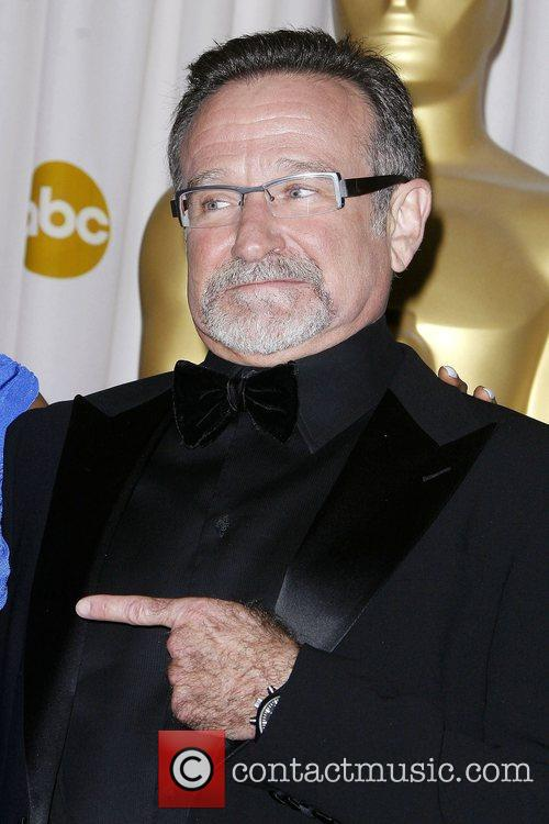 Robin Williams Oscars Pressroom