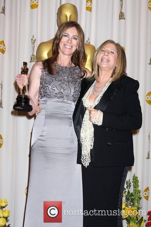 Kathryn Bigelow & Barbra Streisand The 82nd Annual...