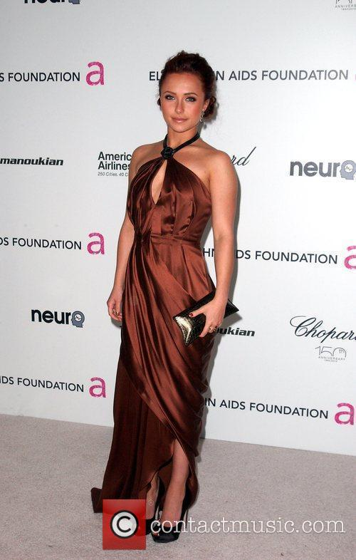 Hayden Panettiere 18th Annual Elton John AIDS Foundation...