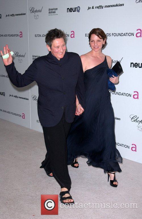 K.d. Lang and Elton John