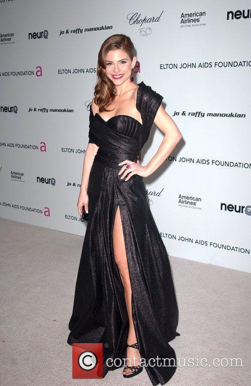 Maria Menounos 18th Annual Elton John AIDS Foundation...