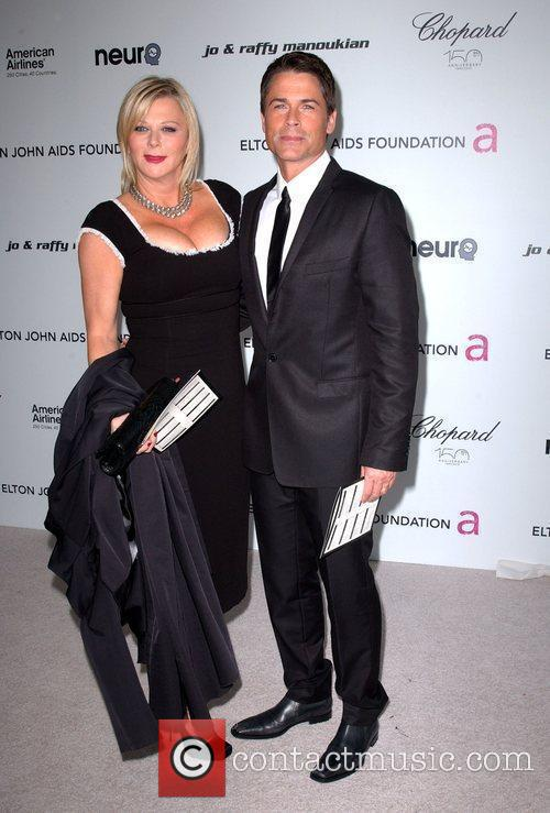 rob lowe wife cheryl. Rob Lowe and Elton John,