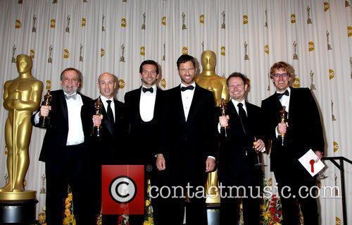 Presenters Bradley Cooper and Gerard Butler 7