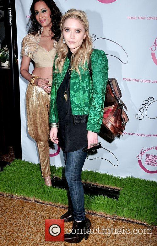 Radhika Oswal and Mary-Kate Olsen Grand opening celebration...