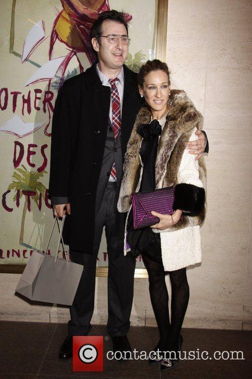 Jon Robin Baitz and Sarah Jessica Parker 4