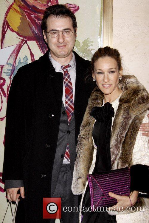 Jon Robin Baitz and Sarah Jessica Parker 2