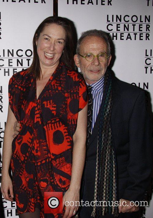 Elizabeth Marvel and Ron Rifkin Opening night after...