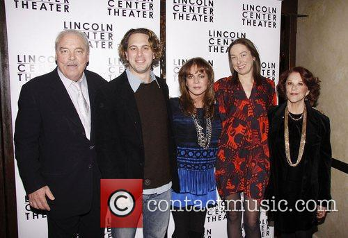 Stacy Keach, Elizabeth Marvel, Jon Robin Baitz and Stockard Channing 4