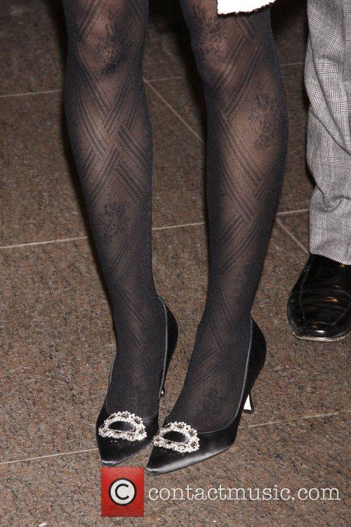 Sarah Jessica Parker's shoes Opening night of the...
