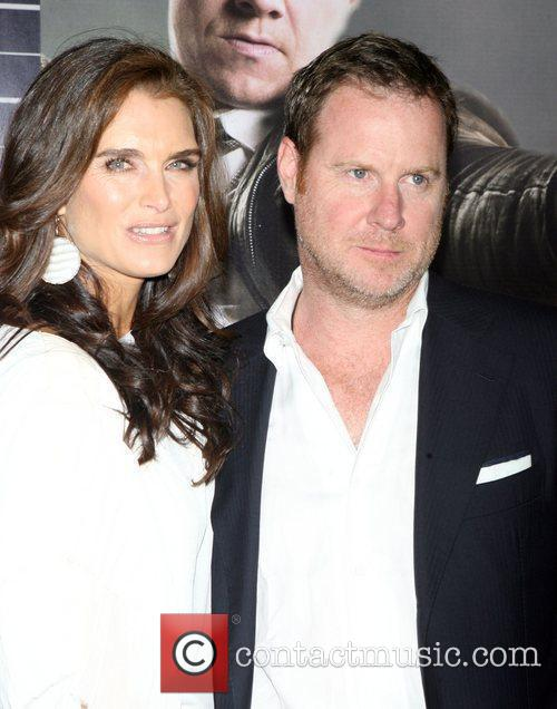 Brooke Shields and Chris Henchy attend the NY...