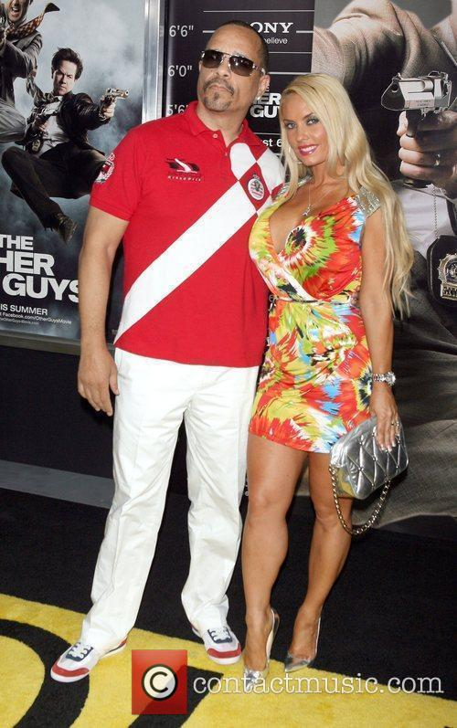 Ice-T; Coco attend the NY movie premiere of...