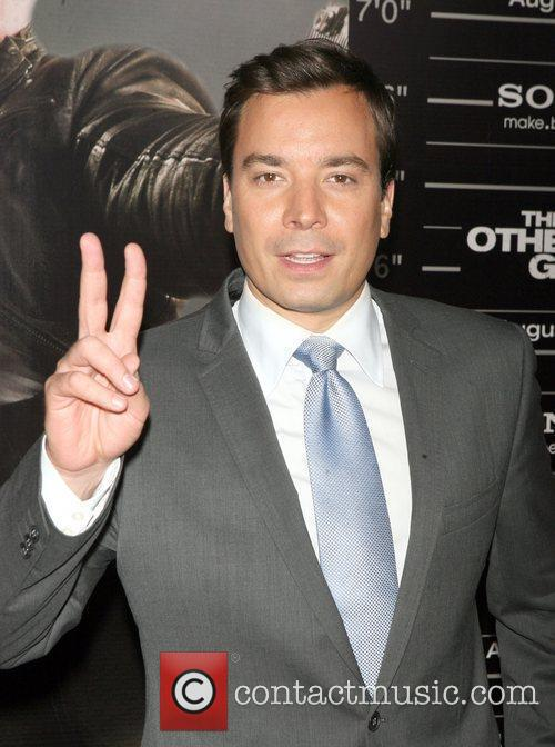 Jimmy Fallon attend the NY movie premiere of...
