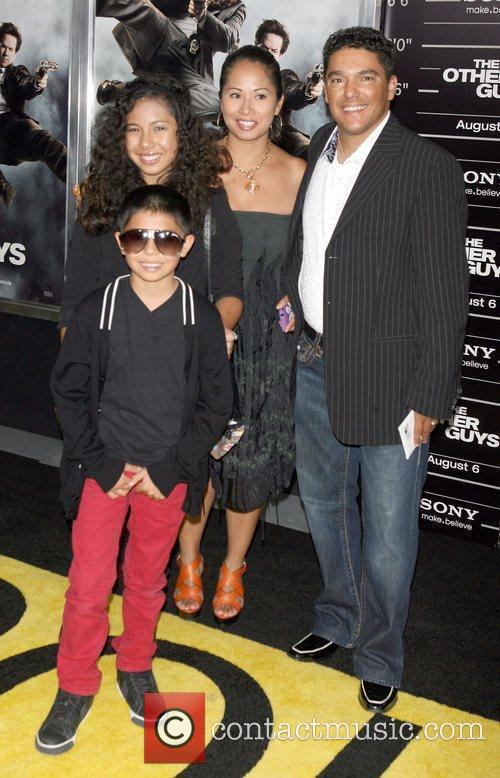 Nicholas Turturro and family attend the NY movie...