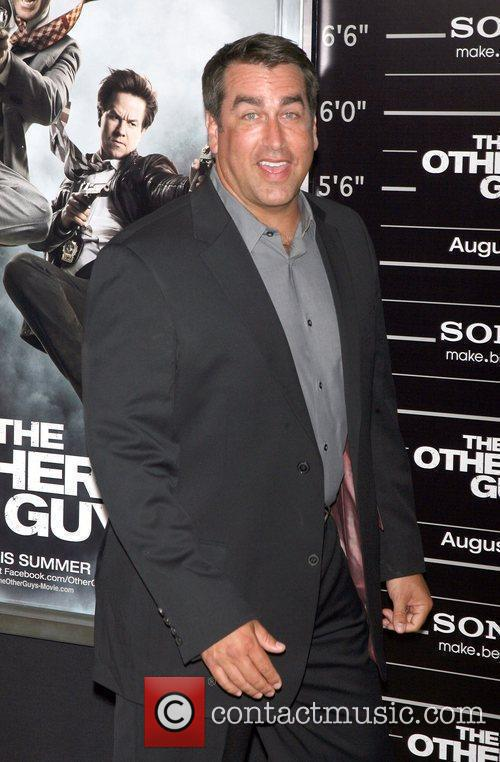 Rob Riggle attend the NY movie premiere of...