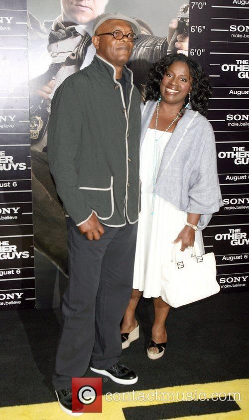 Samuel L. Jackson and LaTanya Richardson attend the...