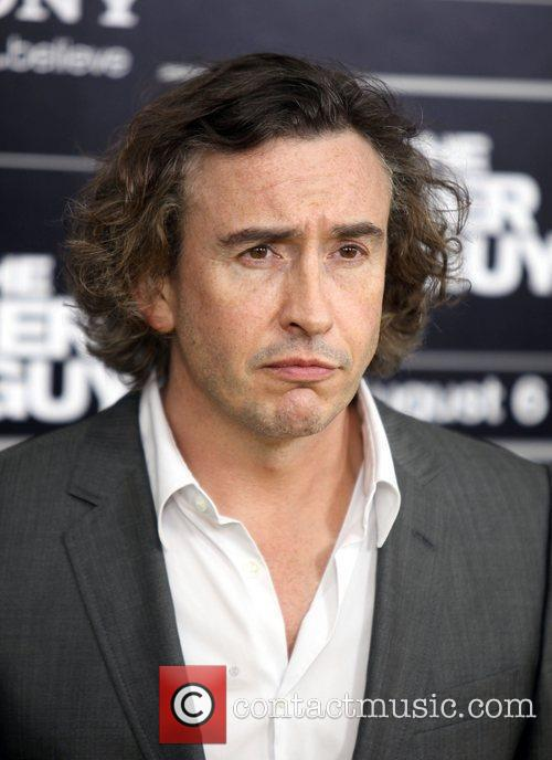 Steve Coogan attend the NY movie premiere of...