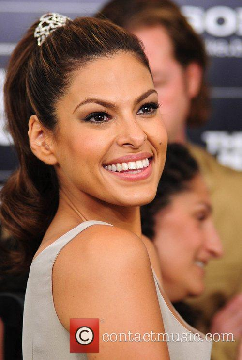 Eva Mendes New York Premiere of 'The Other...
