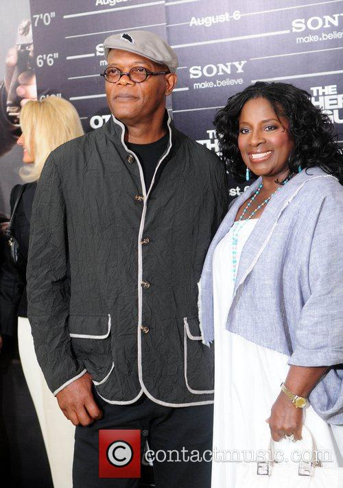 Samuel L. Jackson and LaTanya Richardson New York...