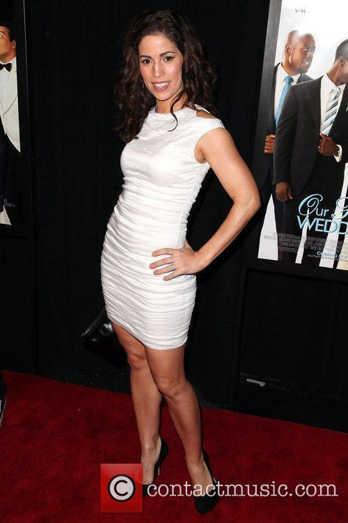 Ana Ortiz Premiere of 'Our Family Wedding' at...