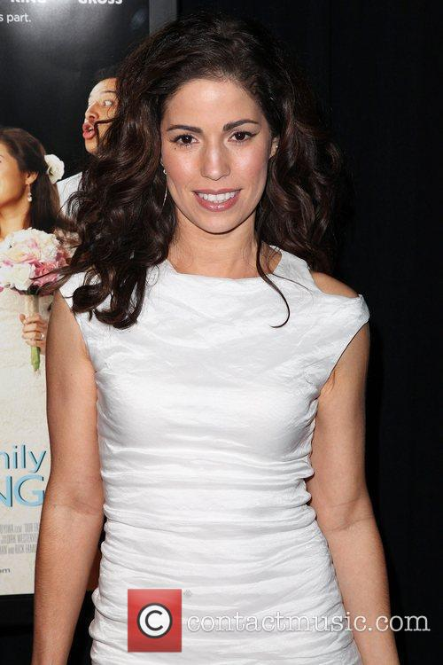 Premiere of 'Our Family Wedding' at AMC Loews...