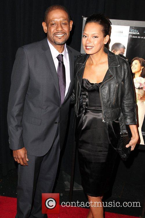 Forest Whitaker and wife Keisha Nash Premiere of...