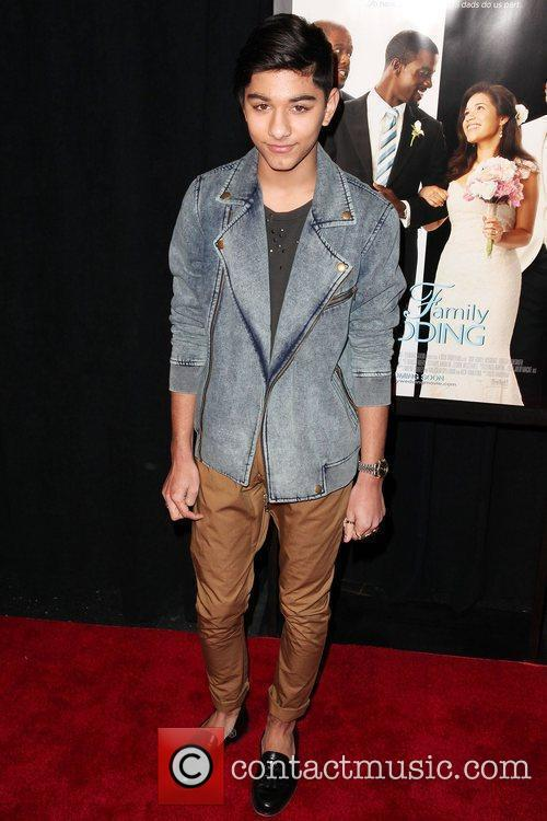 Mark Indelicato  Premiere of 'Our Family Wedding'...